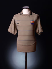 2003-05 Barcelona Away Shirt XXL