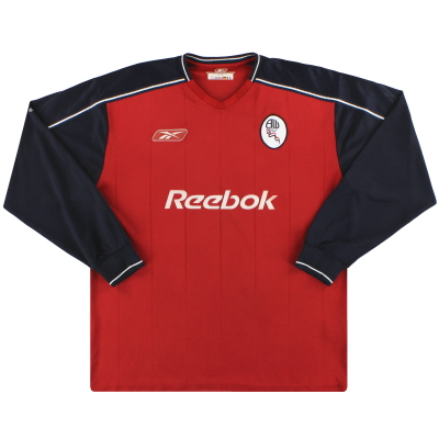 2003-05 Bolton Reebok Away Shirt L/S L