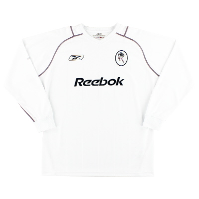 2003-05 Bolton Reebok Home Shirt /