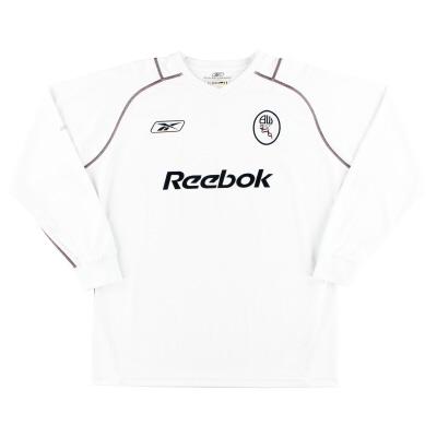 2003-05 Bolton Reebok Home Shirt L/S M