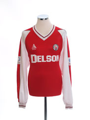 2003-05 Brechin City Home Shirt L/S *Mint* XL