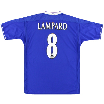 2003-05 Chelsea Umbro Home Shirt Lampard #8 XXL