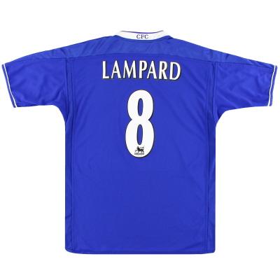 2003-05 Chelsea Umbro Home Shirt Lampard #8 XXL