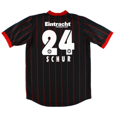 2003-05 Eintracht Frankfurt Match Issue Shirt Schur #24 XXL