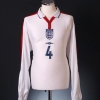 2003-05 England Player Issue Home Shirt #4 L/S XL