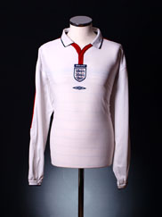 2003-05 England Home Shirt L/S XL