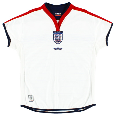 2003-05 England Home Shirt *Mint* Womens 14