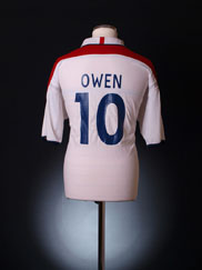 2003-05 England Home Shirt Owen #10 L