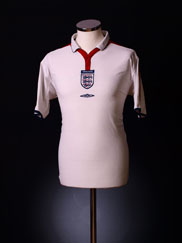 2003-05 England Home Shirt XL