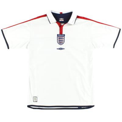 2003-05 England Umbro Home Shirt L