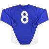 2003-05 Ipswich Punch Home Shirt #8 L/S L