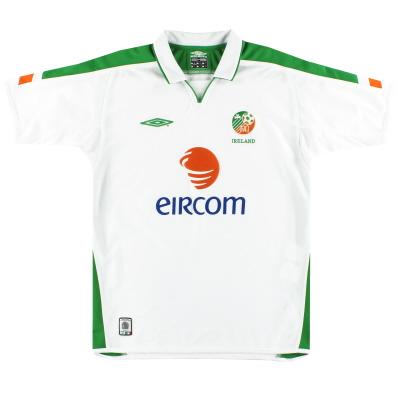 2003-05 Ireland Umbro Away Shirt M