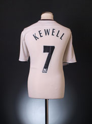 2003-05 Liverpool Away Shirt Kewell #7 M