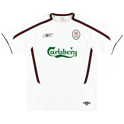 2003-05 Liverpool Away Shirt M.Boys