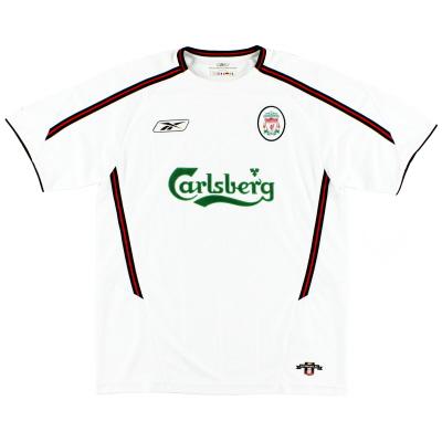 2003-05 Liverpool Reebok Away Shirt XL