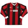 2003-05 Manchester City Away Shirt Anelka #39 L/S L