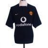 2003-05 Manchester United Away Shirt Solskjaer #20 L