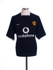 2003-05 Manchester United Away Shirt XL.Boys