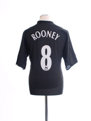 2003-05 Manchester United Away Shirt Rooney #8 L.Boys