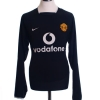 2003-05 Manchester United Away Shirt Smith #14 L/S XXL