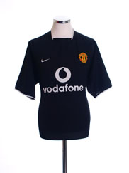 2003-05 Manchester United Away Shirt XXL