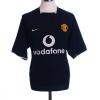 2003-05 Manchester United Away Shirt Keane #16 S