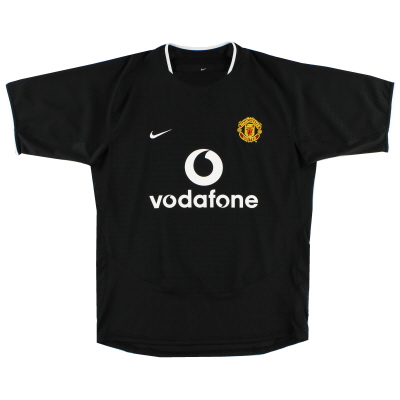 2003-05 Manchester United Away Shirt L.Boys