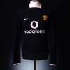 2003-05 Manchester United Away Shirt #7 L/S L