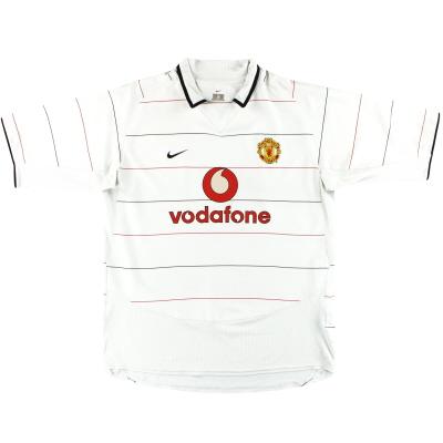 2003-05 Manchester United Nike Third Shirt L
