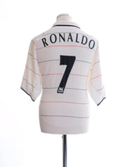 2003-05 Manchester United Third Shirt Ronaldo #7 XL