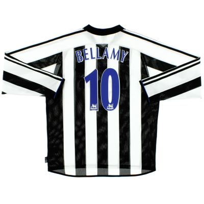 2003-05 Newcastle Home Shirt Bellamy #10 L/S L