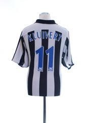2003-05 Newcastle Home Shirt Kluivert #11 L