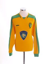 2003-05 Norwich City 'Division 1 Champions' Home Shirt L/S L