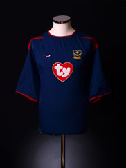 2003-05 Portsmouth Away Shirt L