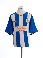 2003-05 Sheffield Wednesday Home Shirt L