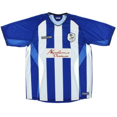 2003-05 Sheffield Wednesday Home Shirt *Mint* L