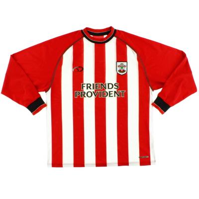 2003-05 Southampton Home Shirt L/S L
