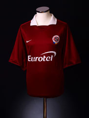 2003-05 Sparta Prague Home Shirt *As New* XL