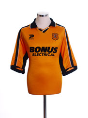 2003-34  Hull City Home Shirt L