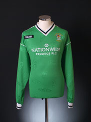 2003 Burscough 'FA Trophy Final' Home Shirt L/S XL