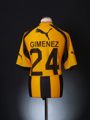 2003 Club Guarani Home Shirt Gimenez #24 *Mint* XL
