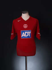 2004-05 Aberdeen Home Shirt M