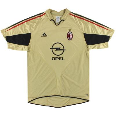 2004-05 AC Milan adidas Third Shirt L
