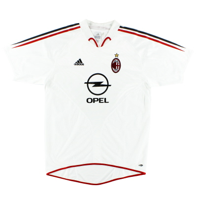 2004-05 AC Milan Away Shirt L