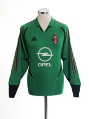 2004-05 AC Milan Goalkeeper Shirt S