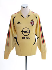 2004-05 AC Milan Goalkeeper Shirt M
