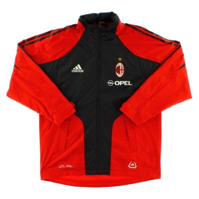 2004-05 AC Milan Rain Jacket *Mint* M