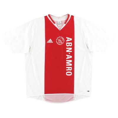 2004-05 Ajax adidas Home Shirt XL