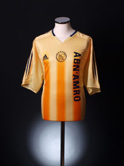 2004-05 Ajax Away Shirt XL