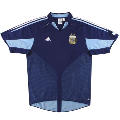 2004-05 Argentina adidas Away Shirt S